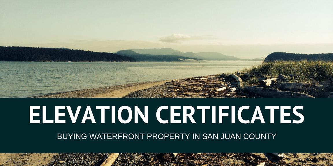 Elevation Certificates Windermere Orcas